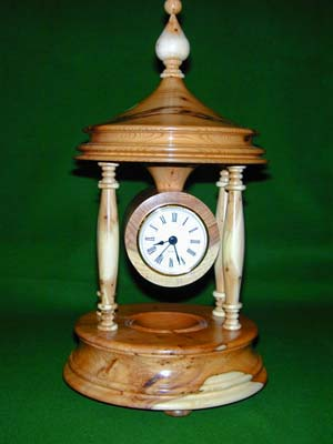 Yew Bandstand Clock