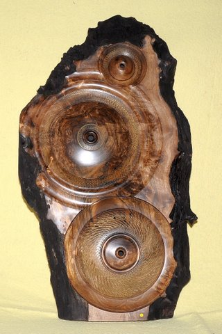 Wall Plaque - Burr Walnut