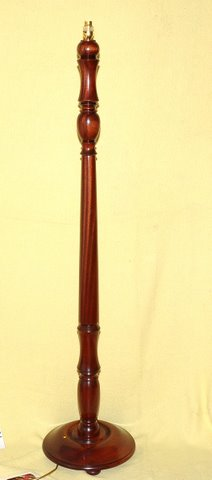 Standard Lamp - Mahogany