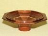 Bowl - Segmented Mahogany