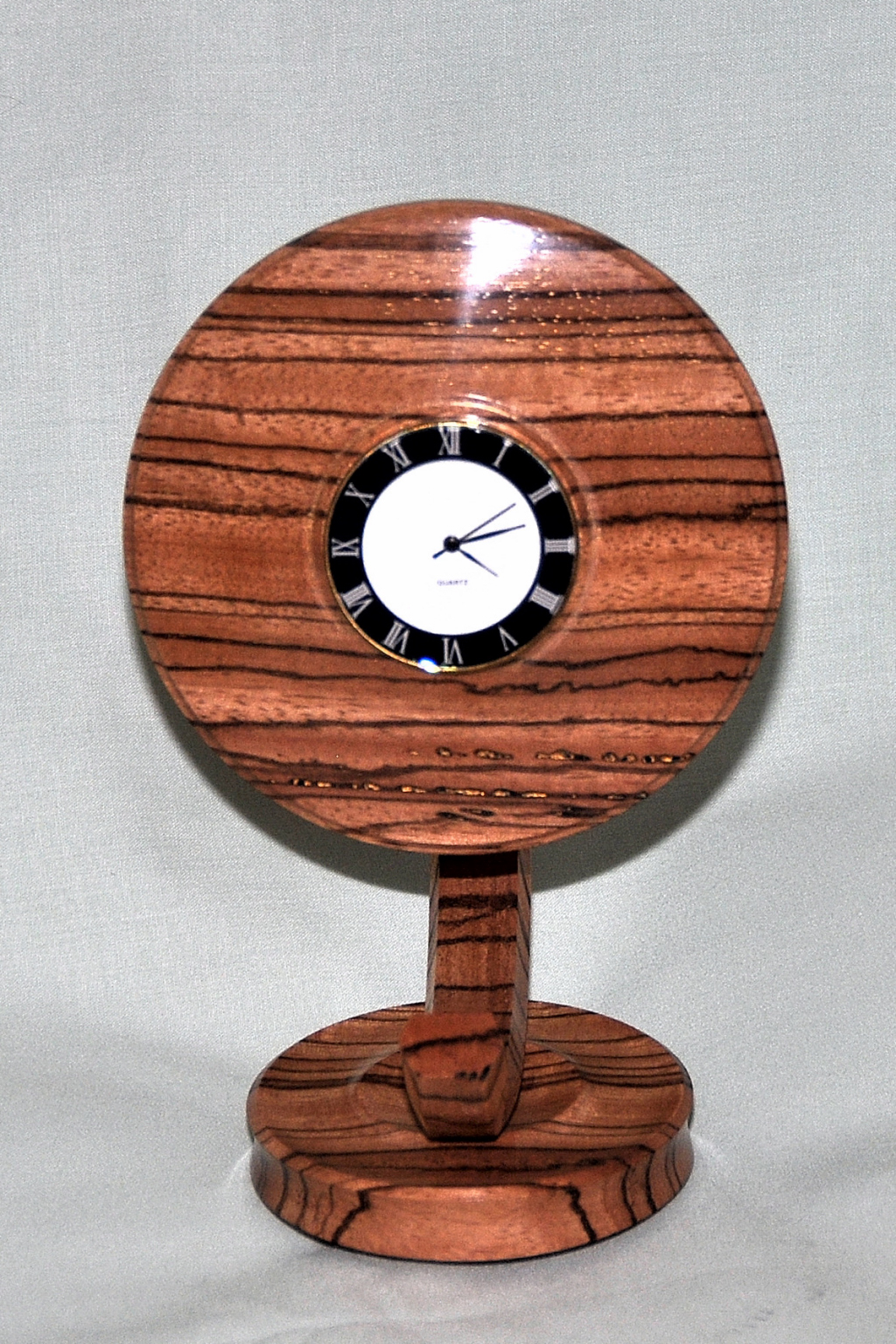 Rowland Seymour - Zebrano Clock