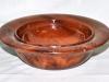 John Oliver - Pair of Elm bowls
