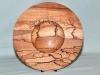 Robin Barlow - Pyrographed beech bowl