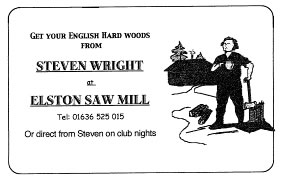 Steve Wright - Elston Saw Mill