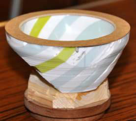 A corian bowl
